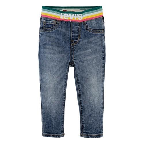 Clothing Girl Skinny jeans Levi's PULLON RAINBOW SKINNY JEAN Blue