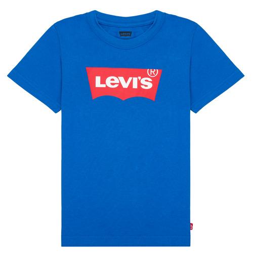 Clothing Boy Short-sleeved t-shirts Levi's BATWING TEE Blue