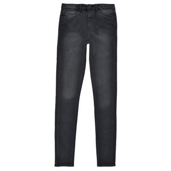 Clothing Girl Skinny jeans Levi's 720 HIGH RISE SUPER SKINNY Black