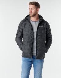 Clothing Men Duffel coats Columbia DELTA RIDGE DOWN HOODED JACKET Black