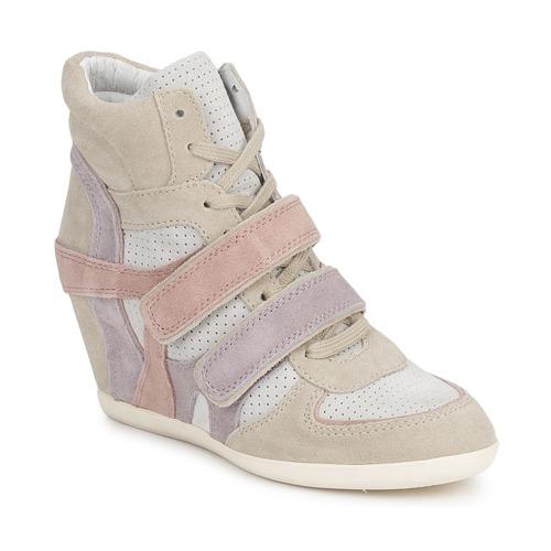 Shoes Women Hi top trainers Ash BIXI Pink / Purple / Grey