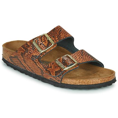 Shoes Women Mules Birkenstock ARIZONA Brown