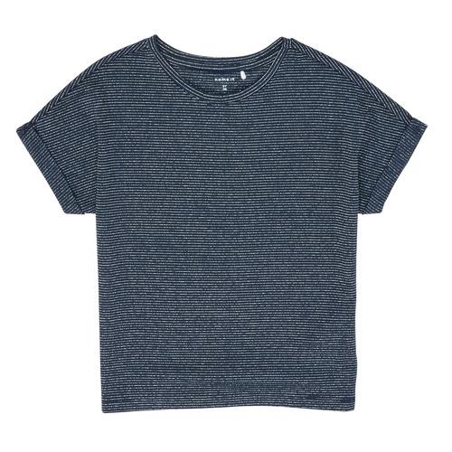 Clothing Girl Short-sleeved t-shirts Name it NKFKYRRA Marine