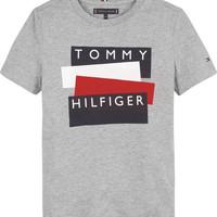 Clothing Boy Short-sleeved t-shirts Tommy Hilfiger KB0KB05849-P6U Grey