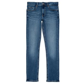 Clothing Boy Slim jeans Tommy Hilfiger SCANTON SLIM Blue