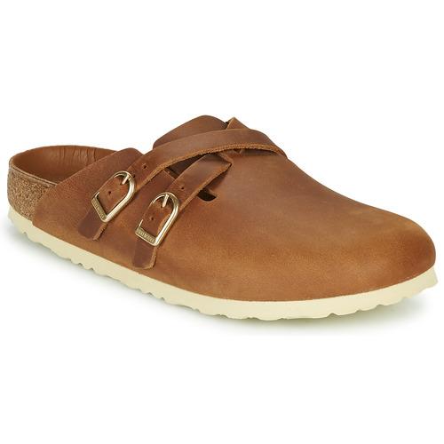 Shoes Women Clogs Birkenstock BLAIR Cognac