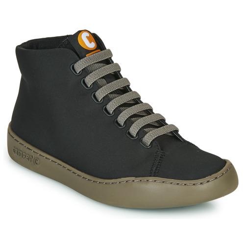 Shoes Women Hi top trainers Camper PEU TOURING  black