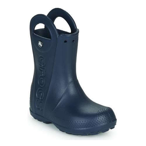 Shoes Children Wellington boots Crocs HANDLE IT RAIN BOOT Navy