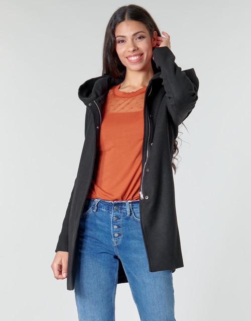 Clothing Women Coats Moony Mood NANTE Black