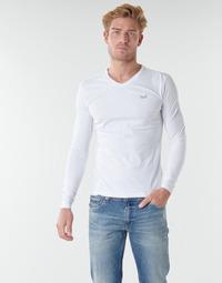 Clothing Men Long sleeved tee-shirts Kaporal VIFT Black-white