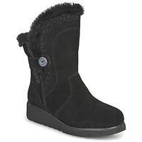 Shoes Women Mid boots Skechers KEEPSAKES WEDGE  black