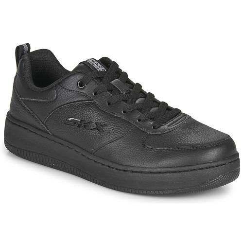 Shoes Women Low top trainers Skechers SPORT COURT 92  black