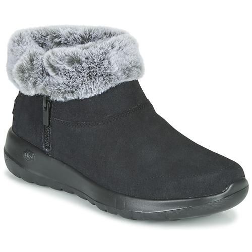 Shoes Women Mid boots Skechers ON-THE-GO JOY  black