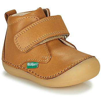 Shoes Children Mid boots Kickers SABIO Camel