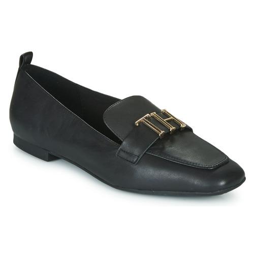Shoes Women Loafers Tommy Hilfiger POLISHED TOMMY LOAFER  black