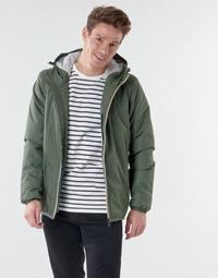 Clothing Men Jackets K-Way LE VRAI 3.0 CLAUDE ORSETTO Kaki