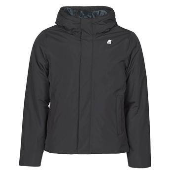 Clothing Men Jackets K-Way JACK RIPSTOP MARMOT Black