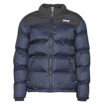 Clothing Duffel coats Schott UTAH Marine / Black