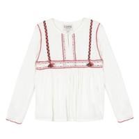 Clothing Girl Tops / Blouses Chipie 8R12014-19 White