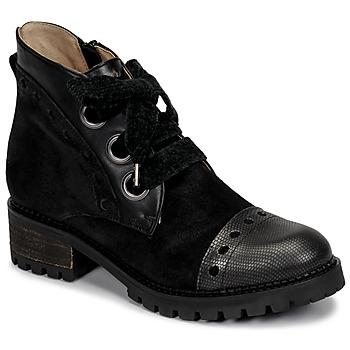 Shoes Women Mid boots Casta MANDA Black