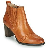 Shoes Women Ankle boots Casta SANTA Cognac