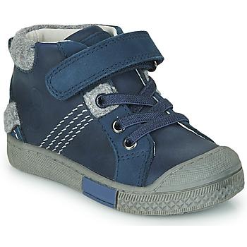 Shoes Boy Hi top trainers Mod'8 HERY Marine