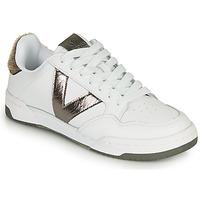 Shoes Women Low top trainers Victoria CRONO PIEL White / Bronze