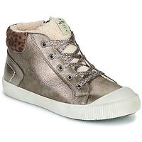 Shoes Girl Hi top trainers Victoria HUELLAS METAL Silver