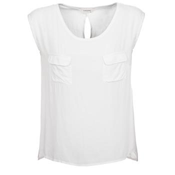 Clothing Women Tops / Sleeveless T-shirts Naf Naf KLOPA ECRU