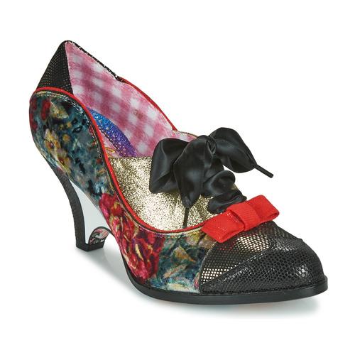 Shoes Women Heels Irregular Choice Force of Beauty  black / Multi