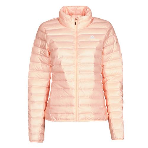 Clothing Women Duffel coats adidas Performance W Varilite J Mist / Coral