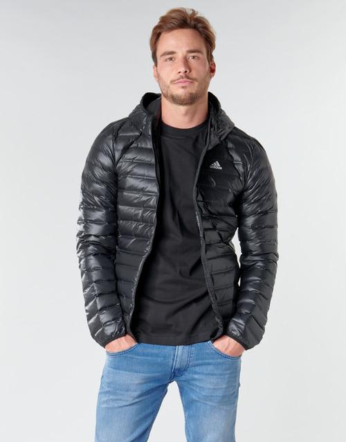 Clothing Men Duffel coats adidas Performance Varilite Ho Jkt Black