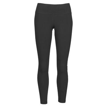 Clothing Women Leggings Reebok Classic TE LINEAR LOGO CT L Black