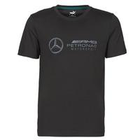 Clothing Men Short-sleeved t-shirts Puma MAPM LOGO TEE Black