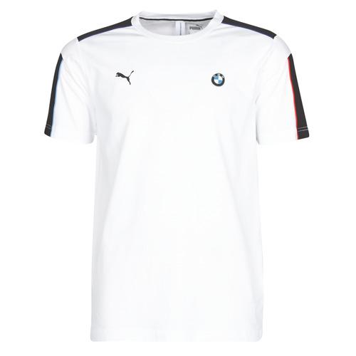 Clothing Men Short-sleeved t-shirts Puma BMW MMS MS T7 TEE White
