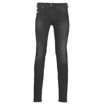 Clothing Men Skinny jeans Diesel SLEENKER Grey / Dark
