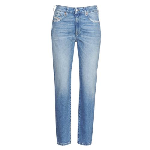 Clothing Women Slim jeans Diesel D-JOY Blue