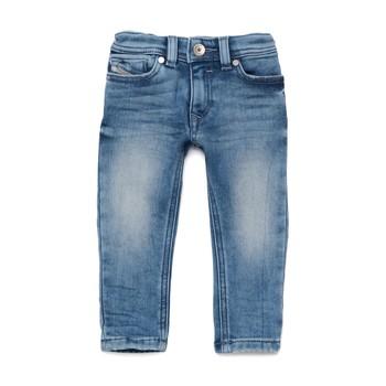 Clothing Boy Skinny jeans Diesel SLEENKER Blue
