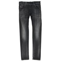 Clothing Boy Skinny jeans Diesel SLEENKER Black