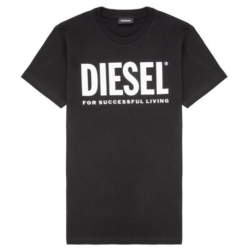 Clothing Children Short-sleeved t-shirts Diesel TJUSTLOGO Black