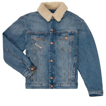 Clothing Boy Denim jackets Diesel JRESKY Blue