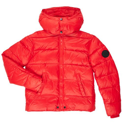 Clothing Boy Duffel coats Diesel JSMITHYAWH Red