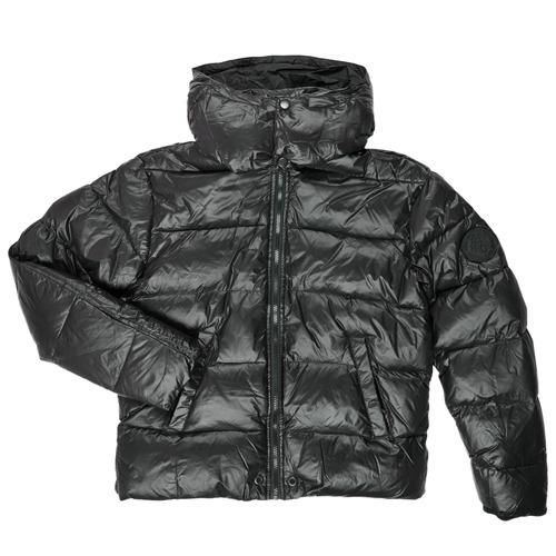 Clothing Boy Duffel coats Diesel JSMITHYAWH Black