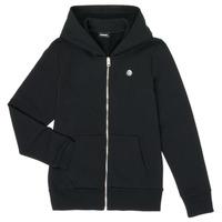 Clothing Boy Sweaters Diesel SROGER Black