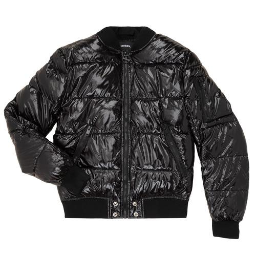 Clothing Children Duffel coats Diesel JONY Black