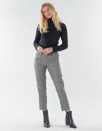 Clothing Women 5-pocket trousers Freeman T.Porter SHELBY MERCURY Grey