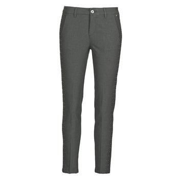 Clothing Women 5-pocket trousers Freeman T.Porter CLAUDIA POLYNEO Grey