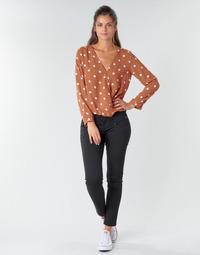 Clothing Women 5-pocket trousers Freeman T.Porter ALEXA CROPPED S-SDM Black