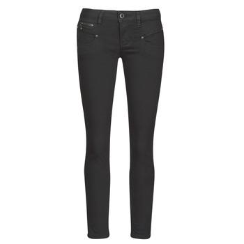 Clothing Women Slim jeans Freeman T.Porter ALEXA CROPPED S-SDM Grey / Dark