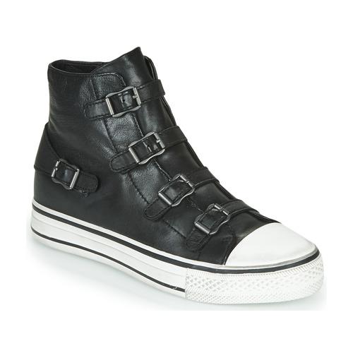 Shoes Women Hi top trainers Ash VIRGIN BLACK  black